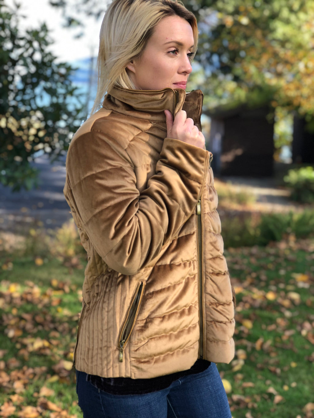 MontanaCo. Sand Coconino Quilted Jacket