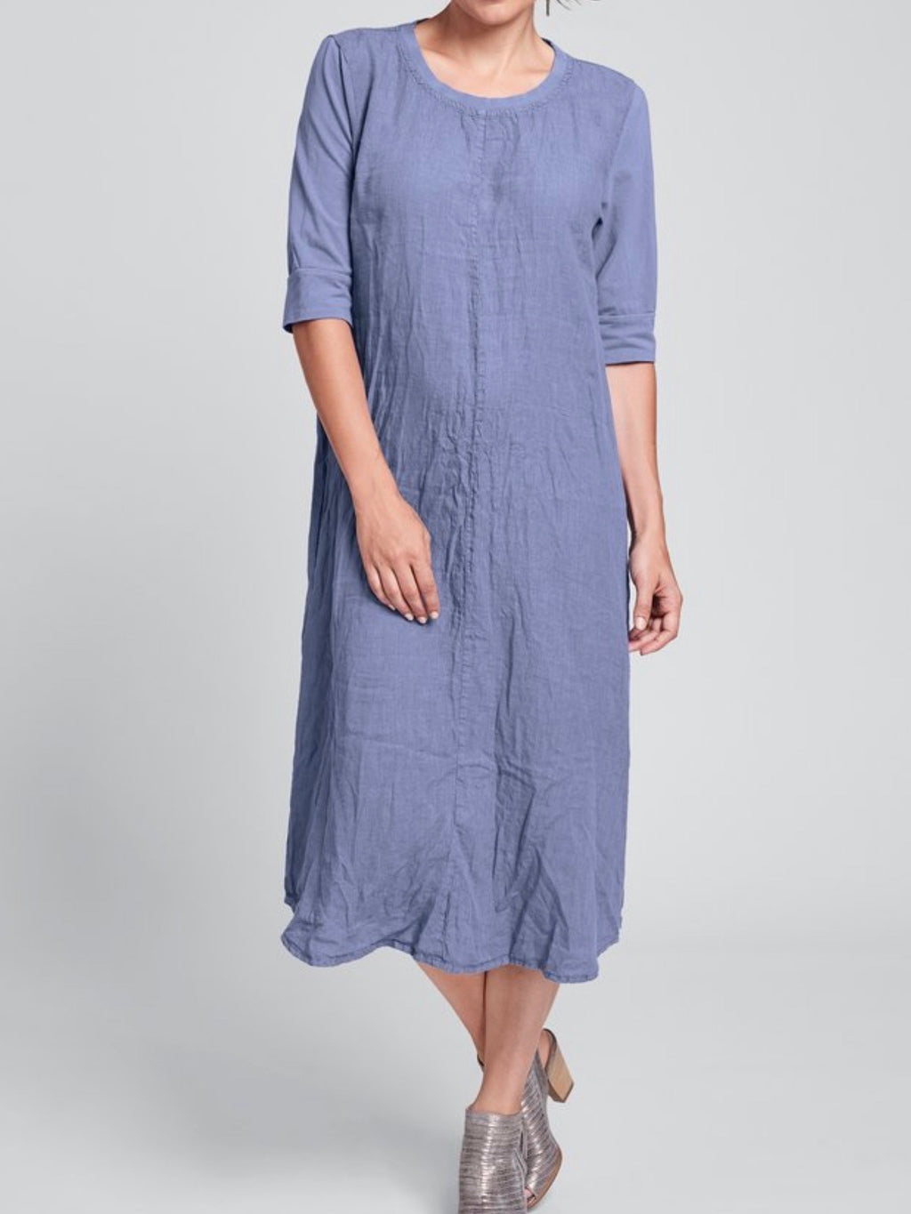 Linen Horizon Dress