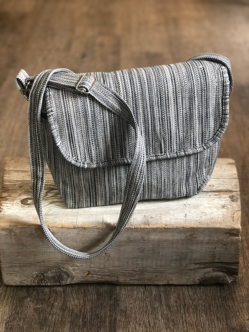 Handwoven Mini Messenger Bag