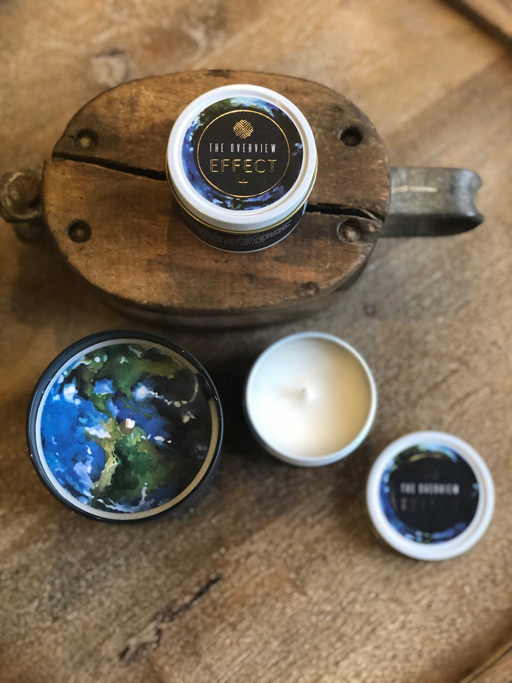 The Overview Effect Candle