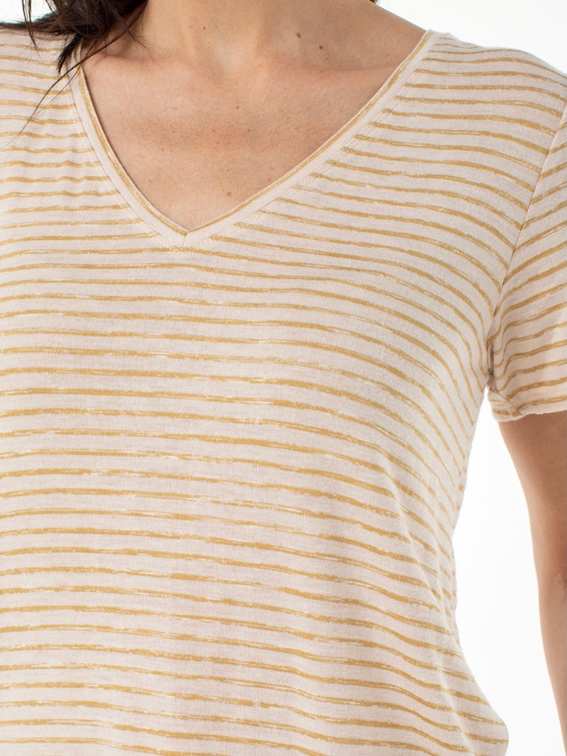 Liverpool Striped Short Sleeve Tee