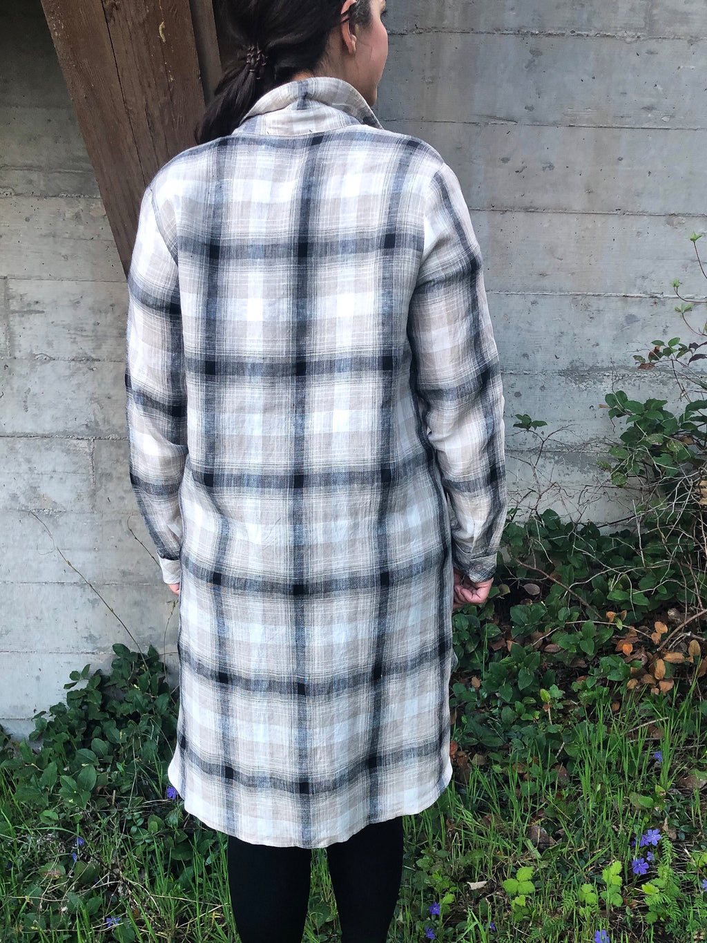 Lizzy Plaid Tunic Dress