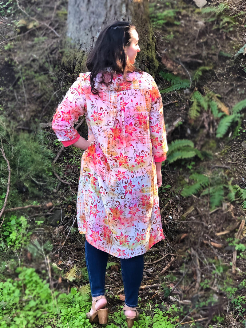 Spring Split Side Tunic