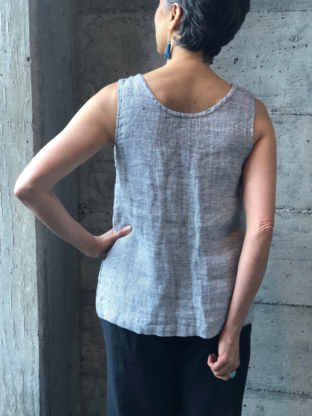 FLAX Slouch Tank