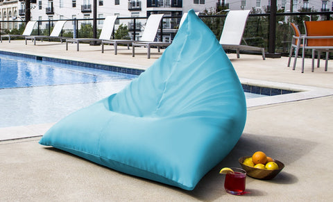 Jaxx Indoor/Outdoor Twist Bean Bag Chair