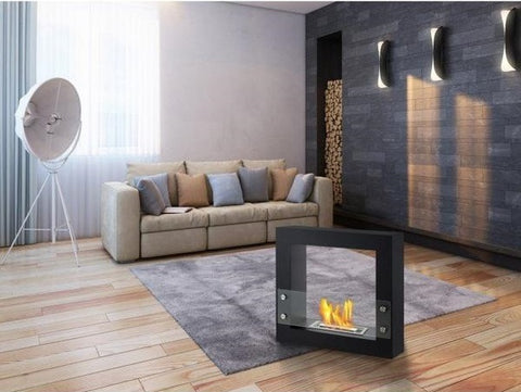 Ignis Lisbon Freestanding Ventless Ethanol Fireplace