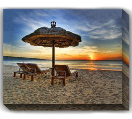 Beach Outdoor Canvas Art