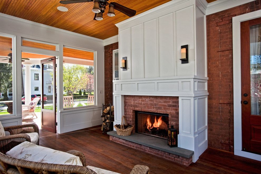 Classic Wood and Brick Combo