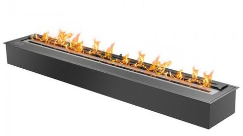 Ignis EB4800 Ethanol Fireplace Burner Insert in Black