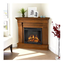 Electric Corner Fireplaces