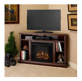Electric TV and Media Console Fireplaces