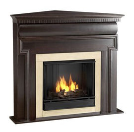 Gel Corner Fireplaces