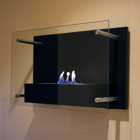Radia Wall Mount Ethanol Fireplace