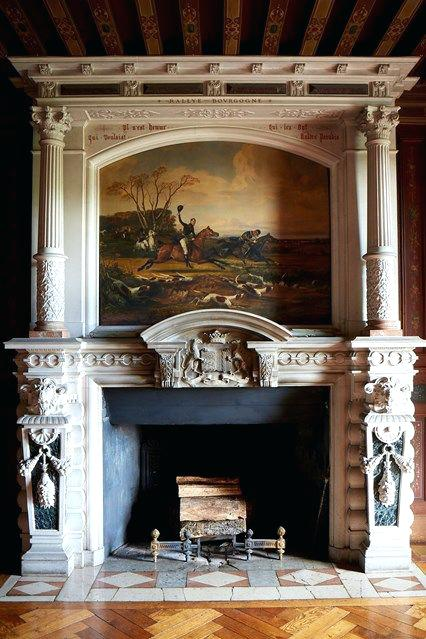 Ornate Fireplace Mantel