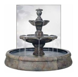 Outdoor Fountains with Pools