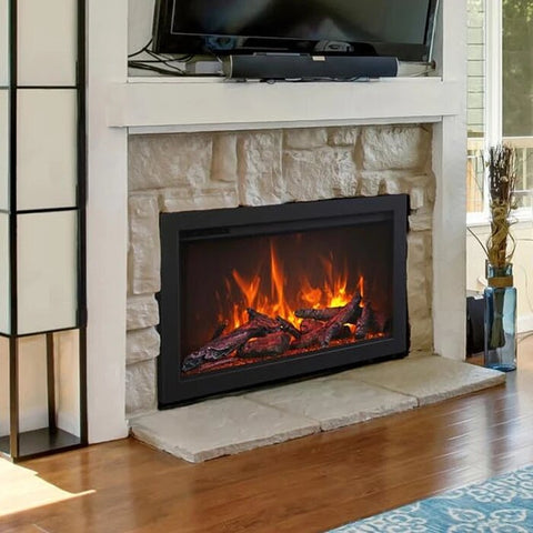 "Amantii 44"" TRD Series Electric Fireplace"