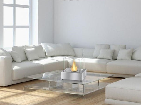 Cube Tabletop Bio Ethanol Fireplace