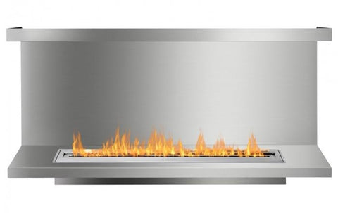 Ignis FB4800-C-Shaped Ethanol Fireplace Insert
