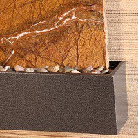 Silver Vein Fountain Trim