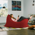 Pillow Saxx 5.5 Bean Bag Pillow - Microsuede Cinnabar  - Soothing Company