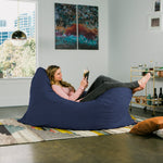 Pillow Saxx 5.5 Bean Bag Pillow - Microsuede Navy  - Soothing Company
