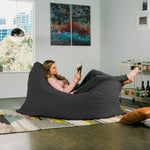 Pillow Saxx 5.5 Bean Bag Pillow - Microsuede Black  - Soothing Company
