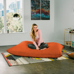 Pillow Saxx 5.5 Bean Bag Pillow - Microsuede Mandarin  - Soothing Company