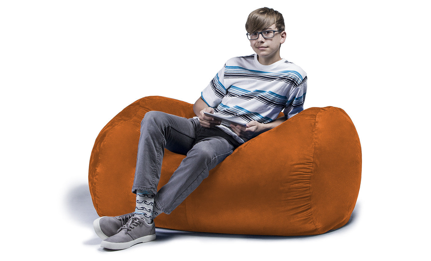 Awesome Lounger 4 Foot Bean Bag Microsuede Soothing Company Cjindustries Chair Design For Home Cjindustriesco