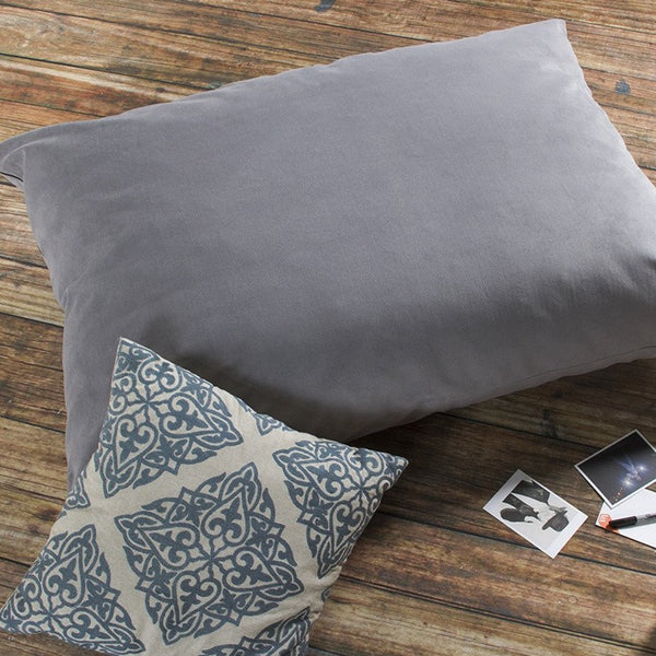 PIllow Saxx 3.5 Foot Bean Bag Floor Pillow - Velvet Twill - Soothing Company