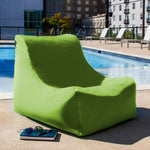 Ponce Outdoor Bean Bag in Lime - Soothing Company
