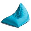 Twist Outdoor Bean Bag Chair in Light Blue  - Soothing Company