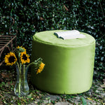 Spring Outdoor Bean Bag Pouf in Lime - Soothing Company