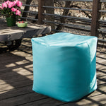 Luckie Outdoor Bean Bag Pouf in Light Blue - Soothing Company