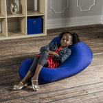 Nimbus Spandex Bean Bag Chair - Small in Royal Blue - Soothing Company
