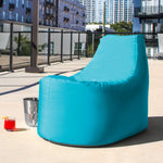 Avondale Outdoor Bean Bag Chair in  Light Blue - Soothing Company