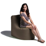 Avondale Outdoor Bean Bag Chair in Taupe - Soothing Company
