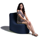 Avondale Outdoor Bean Bag Chair in Navy - Soothing Company