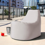 Avondale Outdoor Bean Bag Chair in Pearl - Soothing Company