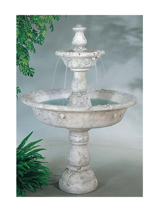 Large Tazza Tier Outdoor Fountain - Soothing Company