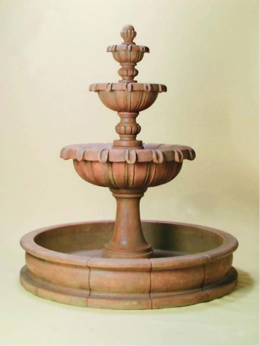 Chateau Pond Outdoor Water Fountain - Soothing Company