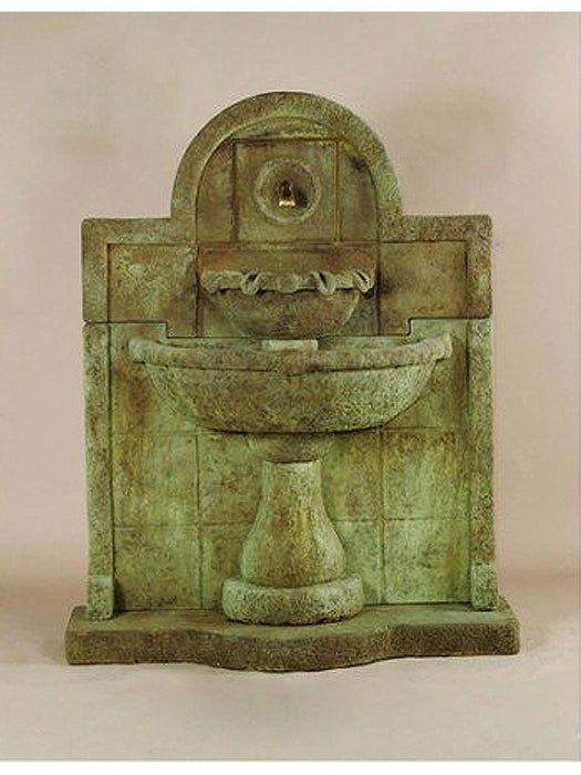 Terme del Foro Wall Outdoor Water Fountain for Spout - Soothing Company