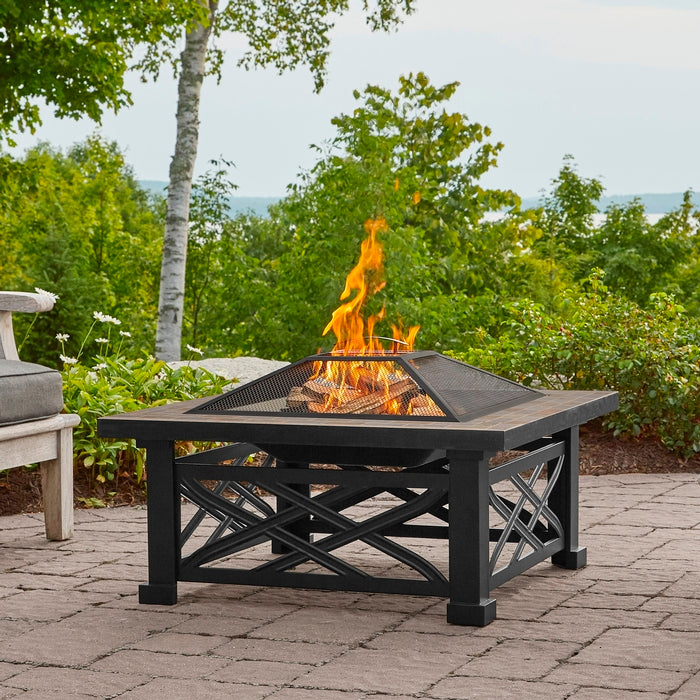 Larkspur Wood Burning Fire Pit