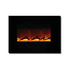 Amantii 26″ WM/FM Series Electric Fireplace with Black Glass Surround - Soothing Company