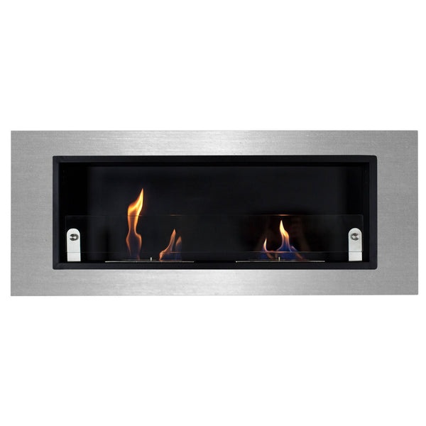 Ventana Due Wall Ethanol Fireplace - Soothing Company