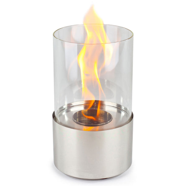 Piccolo Stainless Accenda Tabletop Fireplace - Soothing Company
