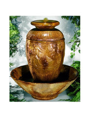 Roman Jar Outdoor Water Fountain - Soothing Company