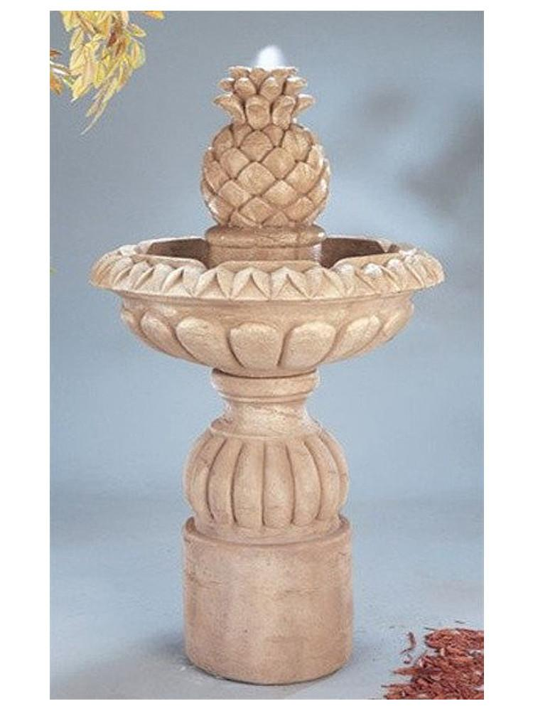 Pina Cascada Outdoor Water Fountain - Soothing Company
