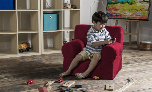 Julep Kids Armchair - Microsuede - Soothing Company