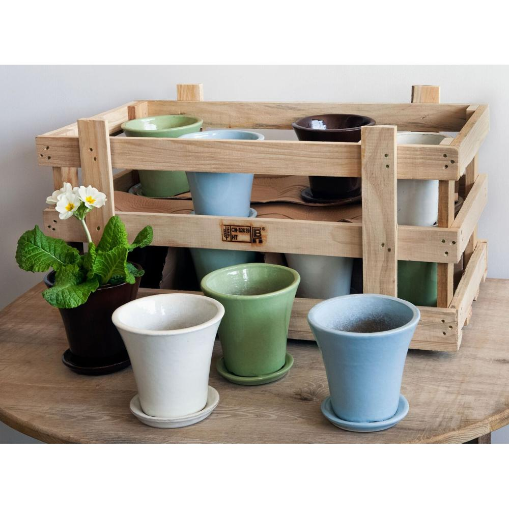 Audrey Planter Crate Set of 16 in Linen Mix - Soothing Company