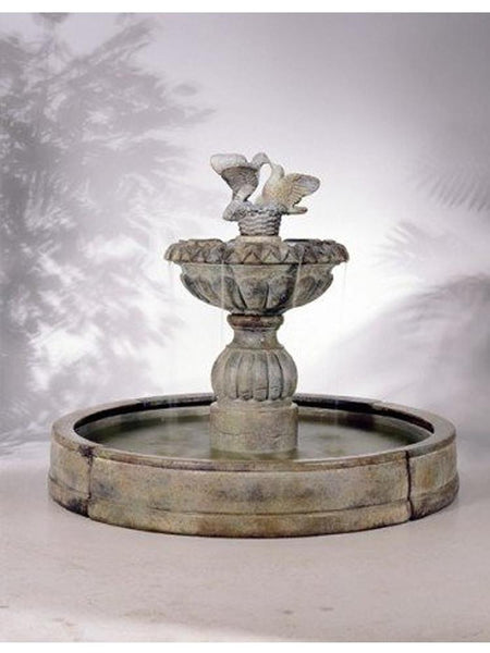 Paloma Cascada in Valencia Pool Outdoor Fountain - Soothing Company